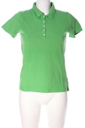 Montego Polo-Shirt grün Casual-Look