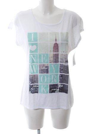 Montego Print-Shirt Motivdruck Casual-Look