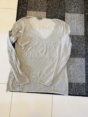 Montego Pull col en V gris clair