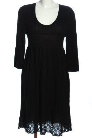 Montego Pulloverkleid schwarz Casual-Look