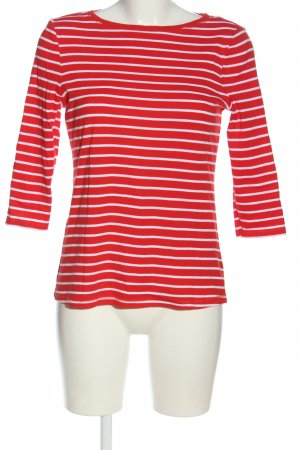 Montego Stripe Shirt red-white striped pattern casual look