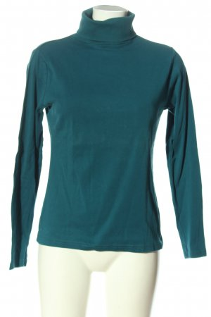 Montego Rollkragenshirt blau Casual-Look