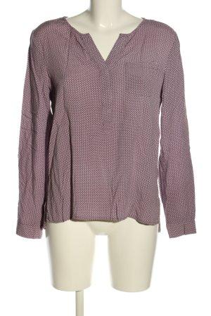 Montego Schlupf-Bluse pink Allover-Druck Casual-Look