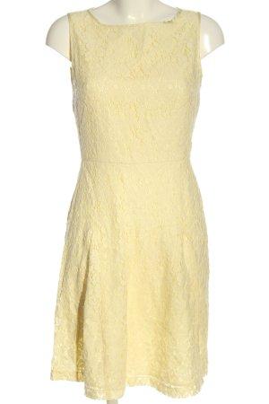 Montego schulterfreies Kleid blassgelb Casual-Look