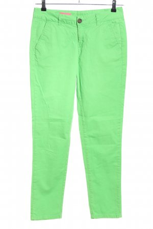 Montego Stoffhose grün Casual-Look