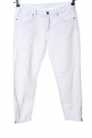 Montego Stoffhose weiß Casual-Look