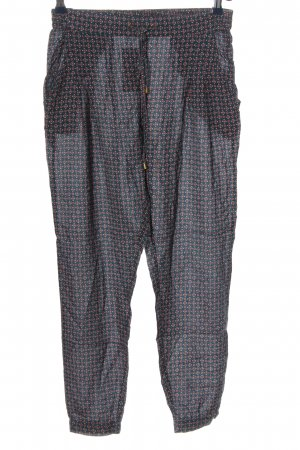 Montego Stoffhose Allover-Druck Casual-Look