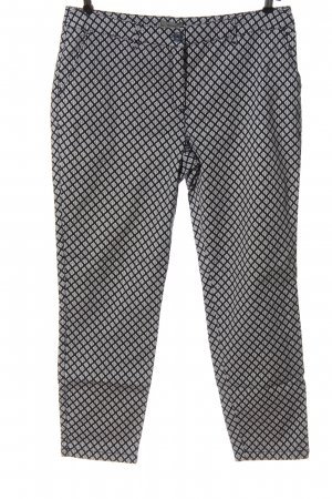 Montego Stoffhose abstraktes Muster Casual-Look
