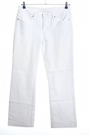 Montego Straight-Leg Jeans weiß Casual-Look