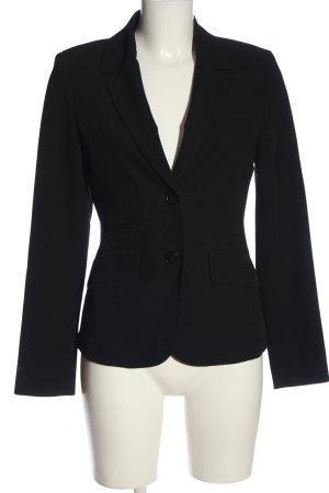 Montego Blazer tejido negro estilo «business»