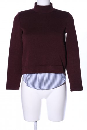 Montego Strickpullover Streifenmuster Casual-Look