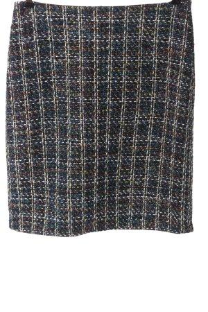 Montego Jupe tricotée motif à carreaux style décontracté