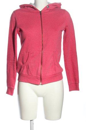 Montego Sweatjacke pink meliert Casual-Look