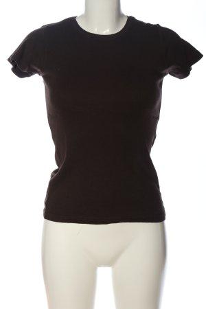 Montego T-Shirt braun Casual-Look