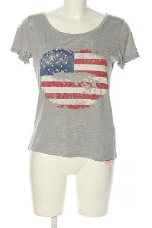 Montego T-Shirt Motivdruck Casual-Look