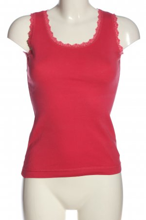 Montego Tanktop rood casual uitstraling