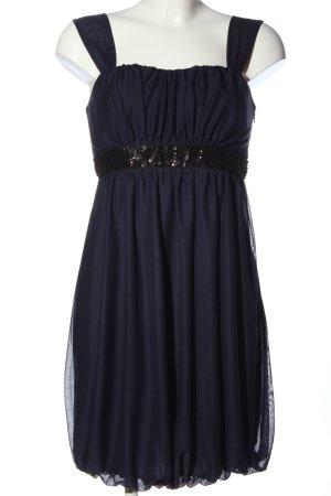 Montego Trägerkleid blau-schwarz Elegant