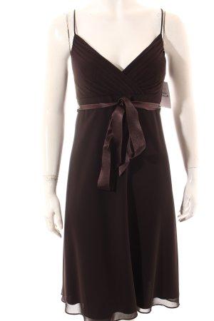 Montego Trägerkleid dunkelbraun Elegant