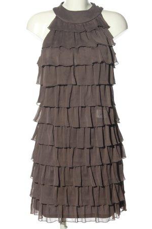 "Montego Robe à volants ""W-7yrkar"" brun"