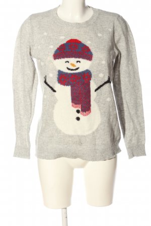 Montego Christmasjumper themed print casual look