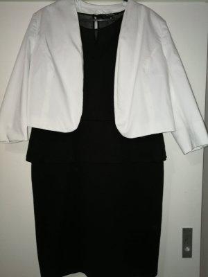 Montego weißer Blazer kurz Bolero Kommunion Konfirmation Taufe Büro Office Business