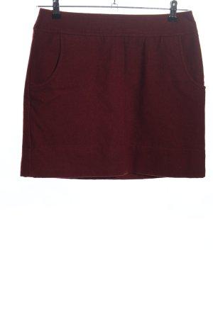 Montego Jupe en laine rouge style décontracté