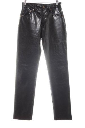 Montgomery High-Waist Hose schwarz extravaganter Stil