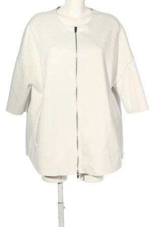Montgomery Veste oversize blanc style décontracté