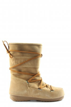 Moon boot Slouch Stiefel braun Casual-Look