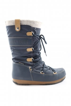 Moon boot Winterstiefel blau Casual-Look