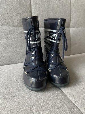 Moon boot Botas de invierno azul oscuro