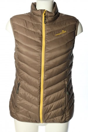 moorhead Quilted Gilet brown-primrose quilting pattern casual look