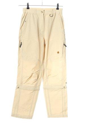 moorhead Pantalon cargo crème style décontracté