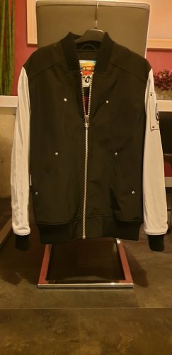College Jacket white-black