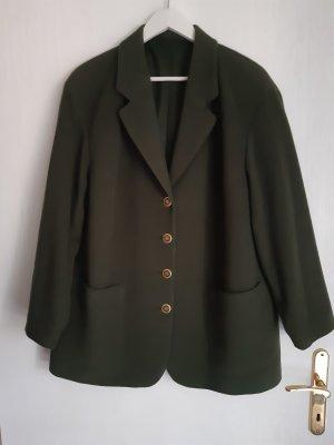 Moosgrüner Vintage-Blazer