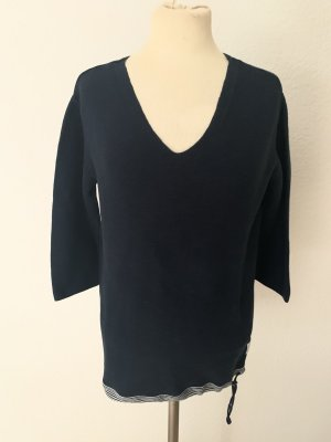 Campus by Marc O'Polo V-Neck Sweater dark blue