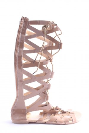 morbarrz Roman Sandals nude casual look