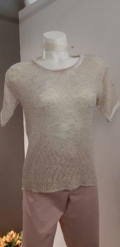 More & More Camicia maglia oro