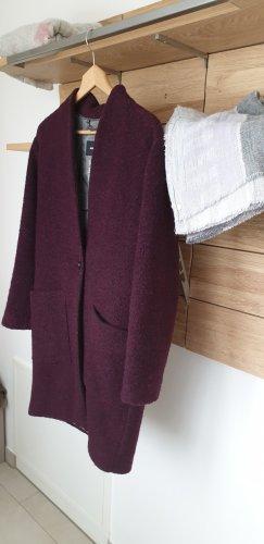 More & More Wool Coat bordeaux mohair