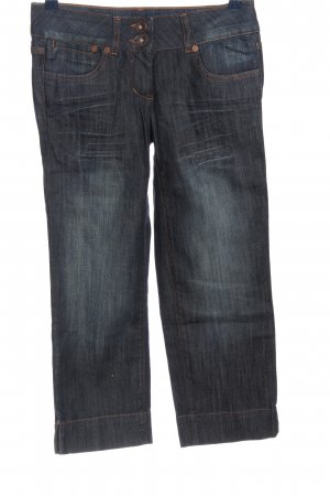 More & More 3/4 Length Jeans blue casual look