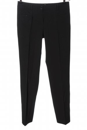 More & More 7/8 Length Trousers black casual look