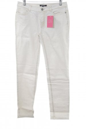 More & More 7/8 Jeans goldfarben meliert Casual-Look