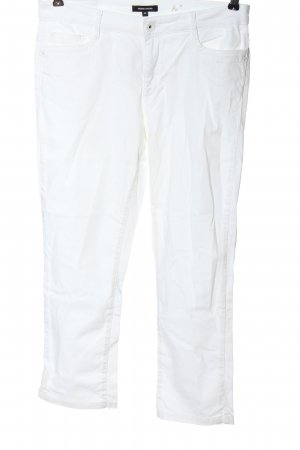 More & More Jeans a 7/8 bianco stile casual