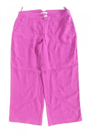 Linen Pants lilac-mauve-purple-dark violet linen