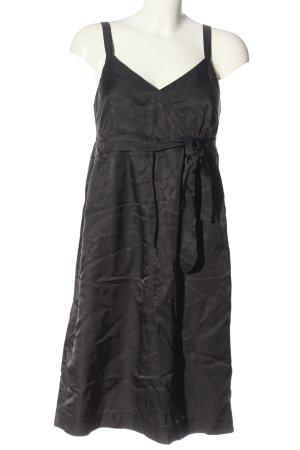 More & More Robe trapèze noir style décontracté