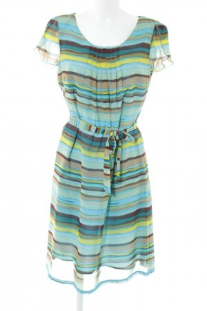More & More A-Linien Kleid Allover-Druck Elegant