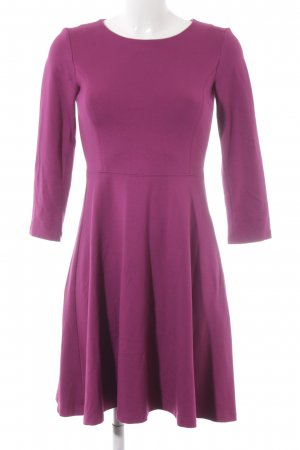 More & More A-Linien Kleid violett Casual-Look