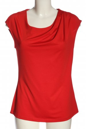 More & More ärmellose Bluse rot Casual-Look