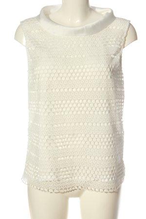 More & More Bluzka bez rękawów biały W stylu casual