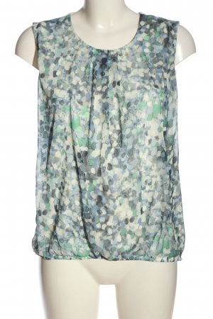 More & More ärmellose Bluse abstraktes Muster Casual-Look